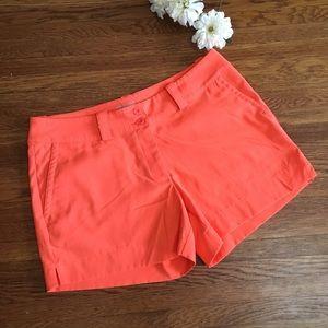 Nike 10 women's golf dri-fit shorts athletic